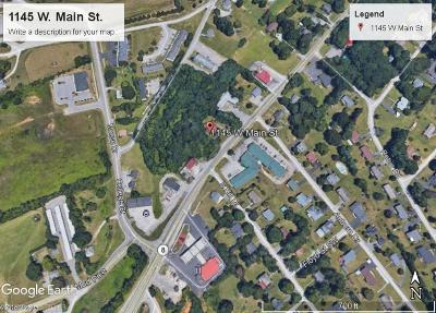 Christiansburg Residential Lots & Land For Sale: 1145 W Main Street