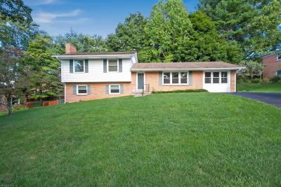 Montgomery County Single Family Home For Sale: 607 Alleghany Drive