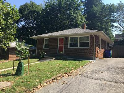 Christiansburg Single Family Home For Sale: 104 Eanes Circle