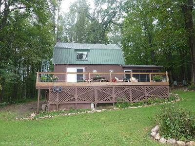 Floyd County Single Family Home For Sale: 1521 Walnut Knob Road