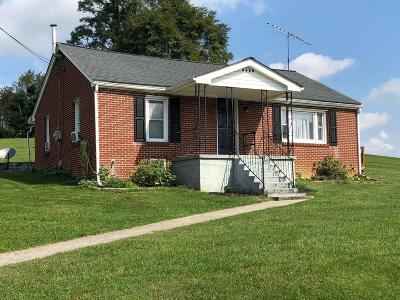 Pulaski VA Single Family Home For Sale: $135,000