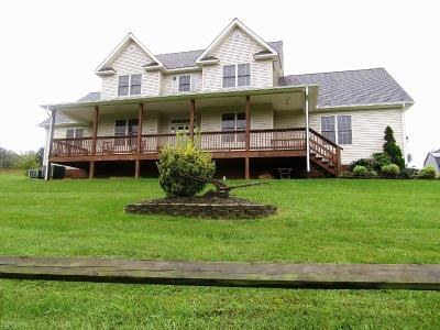 Pearisburg VA Single Family Home For Sale: $320,000
