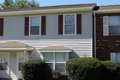 Blacksburg VA Condo/Townhouse For Sale: $218,000