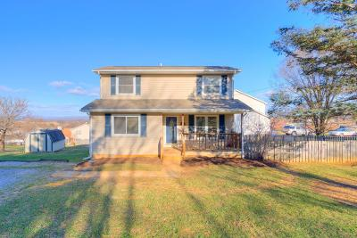 Christiansburg Single Family Home For Sale: 275 Clearview Drive