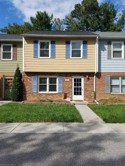 Christiansburg Rental For Rent: 243 Lester Place