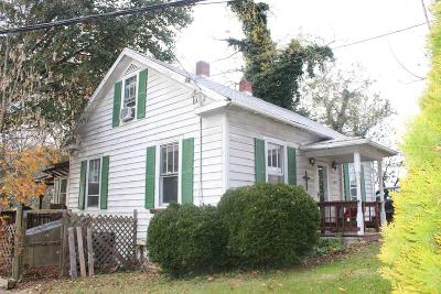 Blacksburg VA Single Family Home For Sale: $148,000