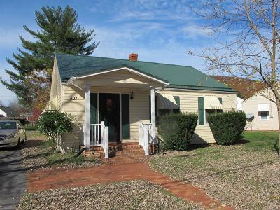 Giles County Single Family Home For Sale: 307 Franklin Street