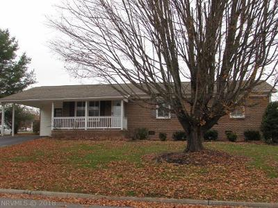 Wytheville VA Single Family Home For Sale: $165,000