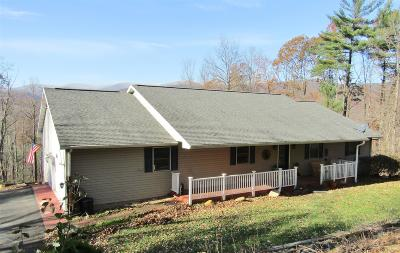 Giles County Single Family Home For Sale: 186 Evergreen Road