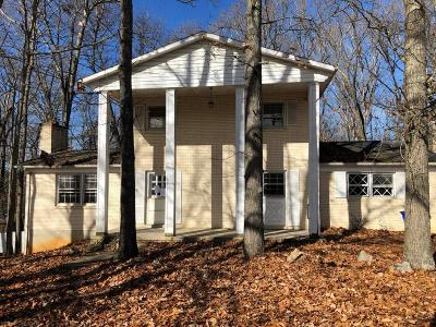 Blacksburg VA Single Family Home For Sale: $220,000