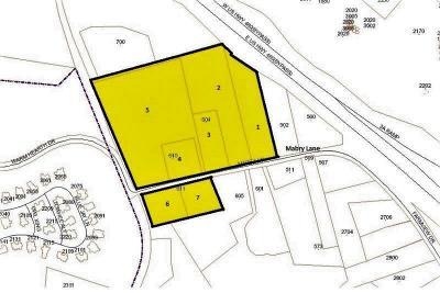 Blacksburg Commercial For Sale: 604/610/611 Mabry Lane