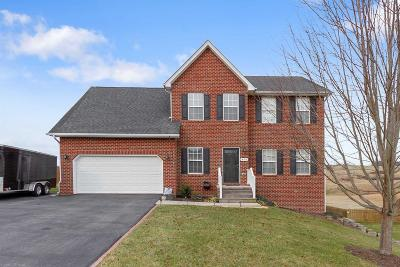 Christiansburg VA Single Family Home For Sale: $328,900