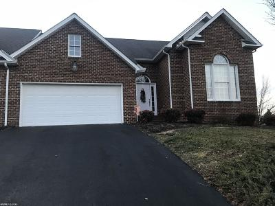 Christiansburg Condo/Townhouse For Sale: 135 Morning Mist Drive