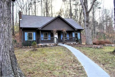 Blacksburg VA Single Family Home For Sale: $239,900