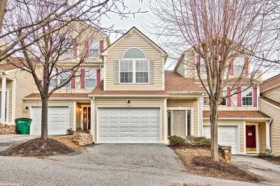 Christiansburg Condo/Townhouse For Sale: 345 Huff Heritage Lane