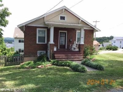 Radford Single Family Home For Sale: 335 Fourth Avenue