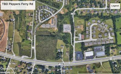 Christiansburg Residential Lots & Land For Sale: Peppers Ferry Road