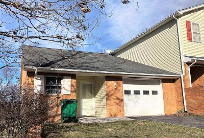 Christiansburg Condo/Townhouse For Sale: 130 Justin Lane