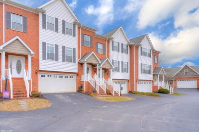 Radford Condo/Townhouse For Sale: 6813 Sahalee Circle