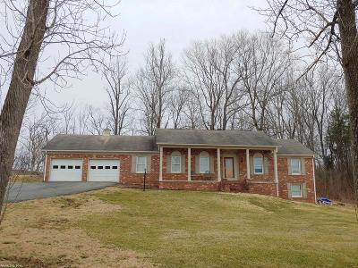 Riner Single Family Home For Sale: 6266 Piney Woods Road