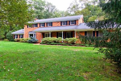 Blacksburg Single Family Home For Sale: 1821 Smithfield Drive