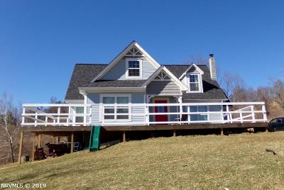 Giles County Single Family Home For Sale: 3868 Gravely Hill Road