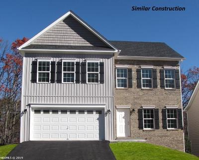 Christiansburg Single Family Home For Sale: 555 Dewdrop Lane