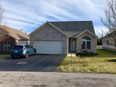 Christiansburg Single Family Home For Sale: 225 Melody Drive