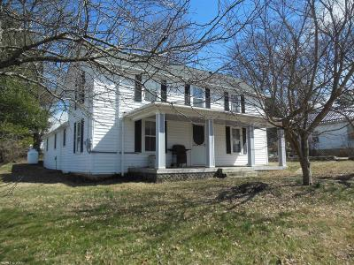 Montgomery County Single Family Home For Sale: 1250 King St. Christiansburg 24073 Street