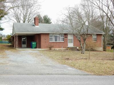 Christiansburg Single Family Home For Sale: 145 Majestic Drive