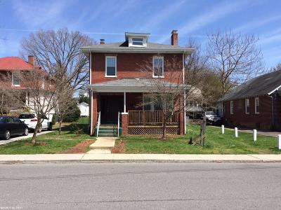 Radford Single Family Home For Sale: 301 Third Avenue