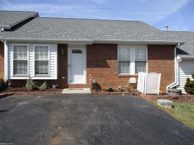 Christiansburg Condo/Townhouse For Sale: 135 Darci Drive