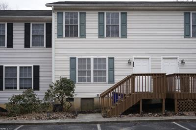 Christiansburg Condo/Townhouse For Sale: 515 School Lane