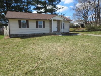 Pulaski County Single Family Home For Sale: 843 Newbern Road