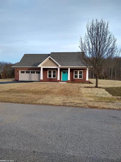 Christiansburg Single Family Home For Sale: 2410 Hitching Post Drive