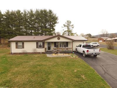 Wythe County Single Family Home For Sale: 156 Jacksonville Heights