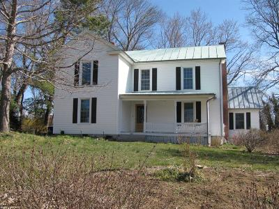 Blacksburg Single Family Home For Sale: 801 Toms Creek Road
