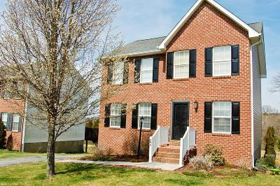Christiansburg Single Family Home For Sale: 295 Sequoia Circle
