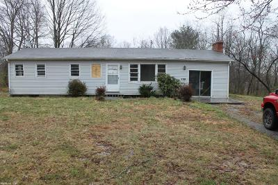 Radford Single Family Home For Sale: 2708 Dry Valley Road