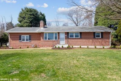 Blacksburg Single Family Home For Sale: 207 Ardmore Street