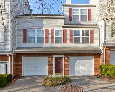 Christiansburg Condo/Townhouse For Sale: 275 Silver Leaf Drive