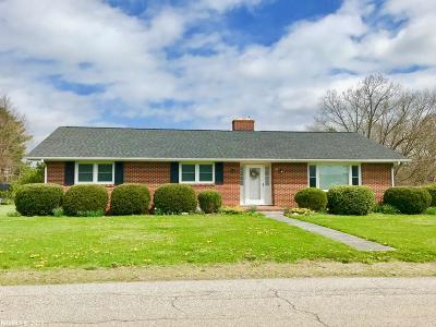 Christiansburg Single Family Home For Sale: 90 Ellett Road