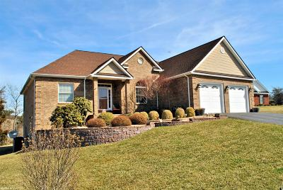 Christiansburg Single Family Home For Sale: 140 Spring Buck Lane
