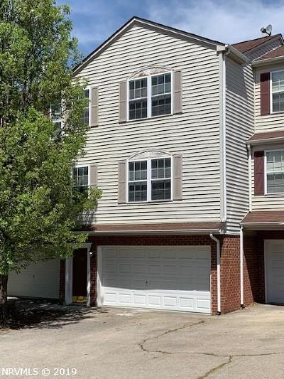Christiansburg Condo/Townhouse For Sale: 395 Silver Leaf Drive
