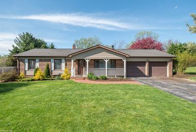 Blacksburg Single Family Home For Sale: 1104 Quail Drive