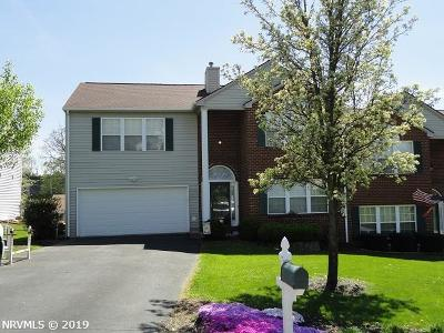 Christiansburg VA Condo/Townhouse For Sale: $219,999