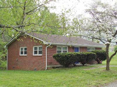 Giles County Single Family Home For Sale: 301 Tazewell Street