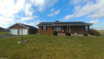 Christiansburg Rental For Rent: 3755 Dairy Road