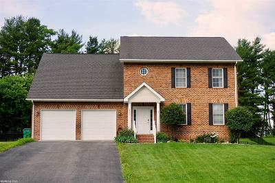 Blacksburg Single Family Home For Sale: 2750 Green Meadow Drive
