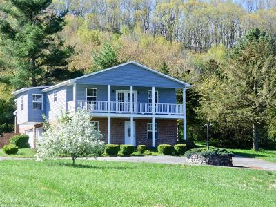 Wythe County Single Family Home For Sale: 1365 W Ridge Road